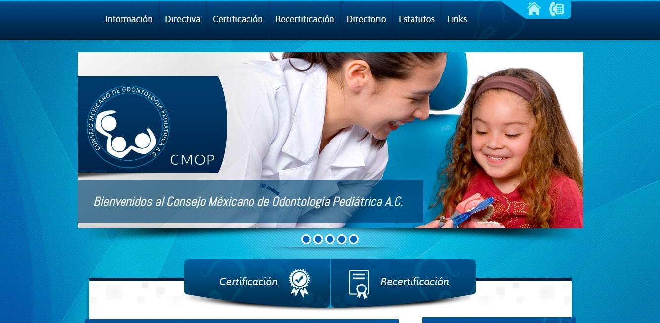 CMOP -Consejo Mexicano de Odontología Pediátrica.