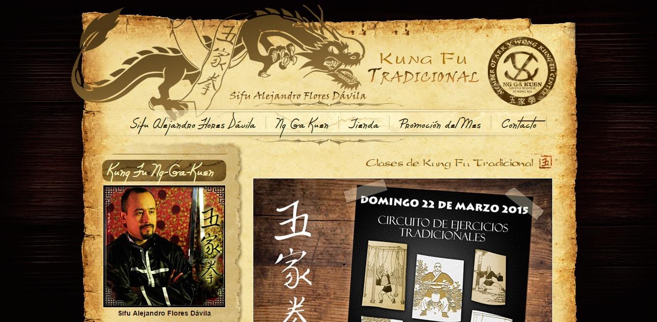Escuela de Kung Fu