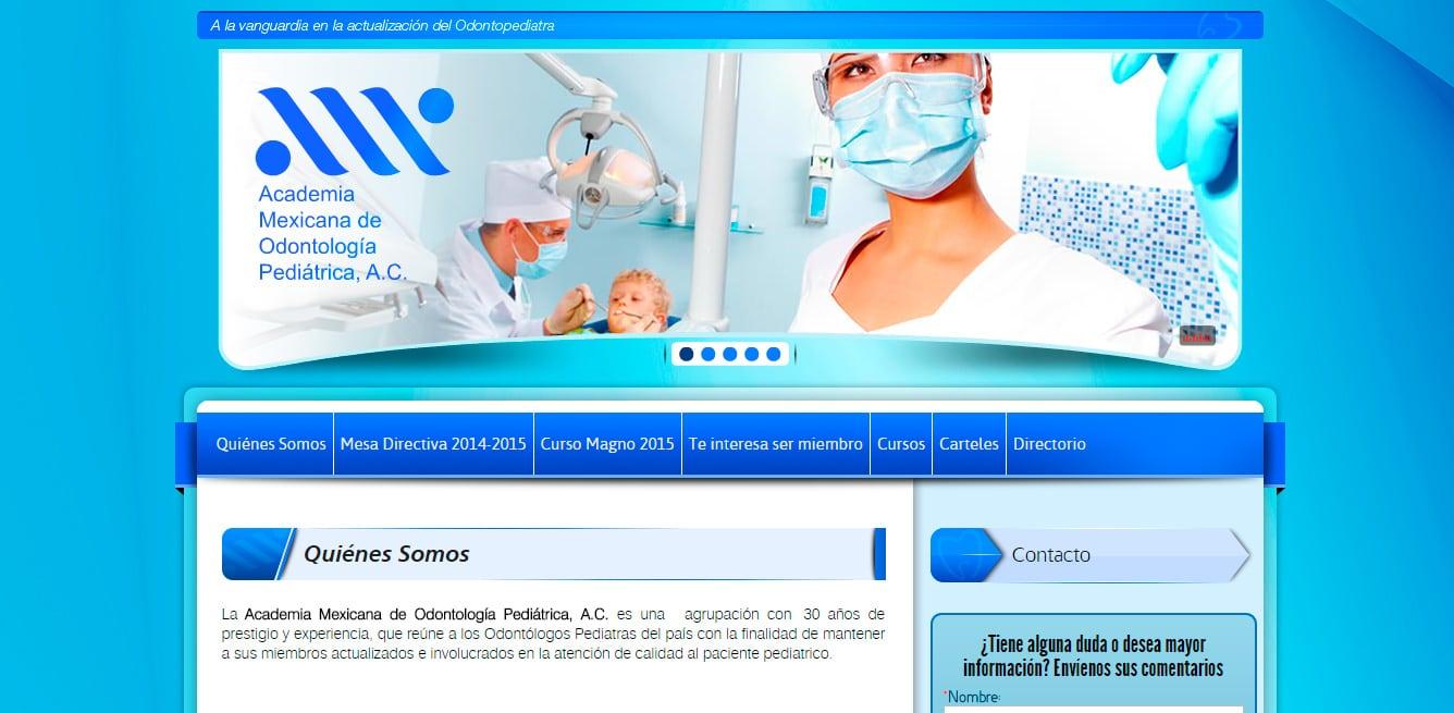 Amop - Academia Mexicana de Odontología Pediátrica