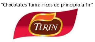 Chocolates Turin Eslogan