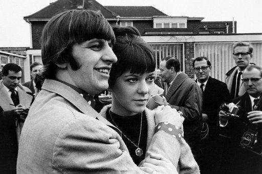 Maureen Cox y Ringo Starr