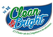 Logotipo Clean & Bright